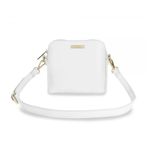 Katie Loxton Bella Box Bag in White