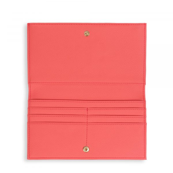 Katie Loxton Alise Fold Out Purse in Coral