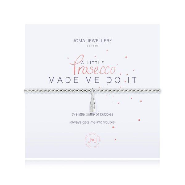 Joma Jewellery a little Prosecco Made Me Do It Bracelet