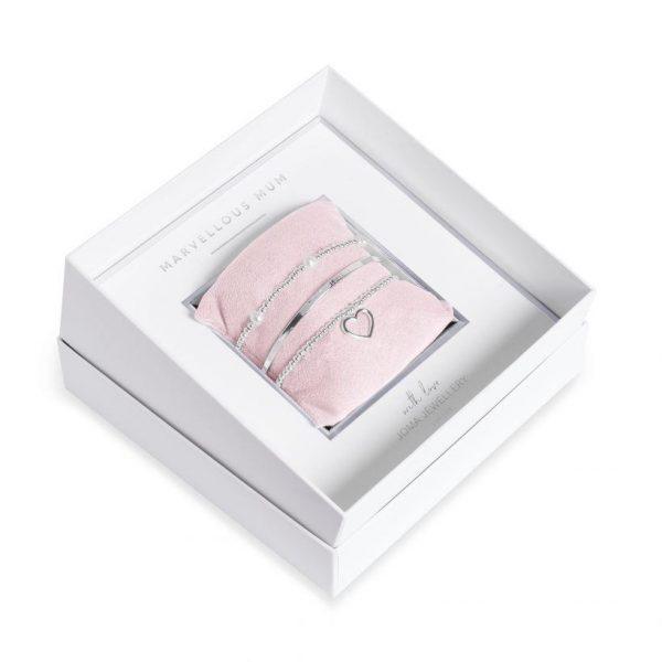 Joma Jewellery Marvellous Mum Bracelet Gift Box