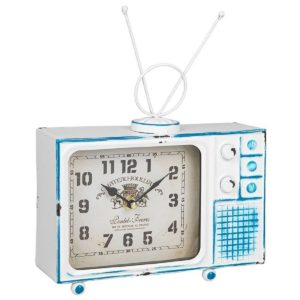 Past Times Retro Television Clock
