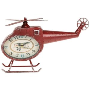 Past Times Retro Helicopter Clock