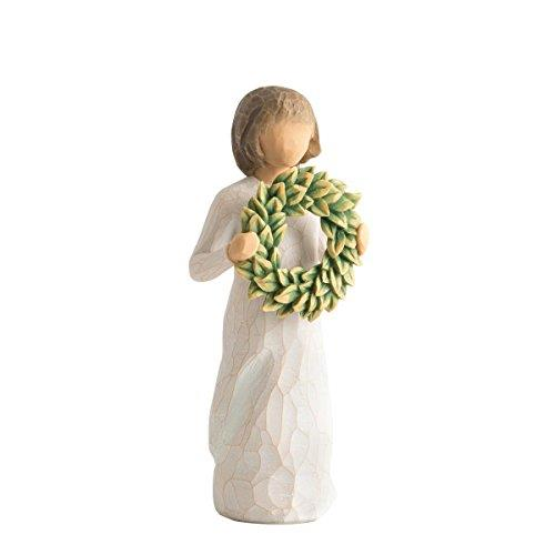 Willow Tree Magnolia Figurine, Resin, Cream, 50 x 55 x 135 cm