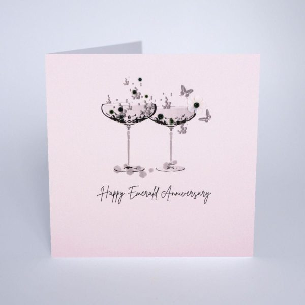 Five Dollar Shake Emerald (55years) Anniversary Card