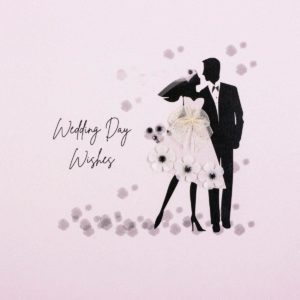 Five Dollar Shake Wedding Card