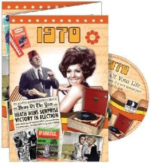 1970 DVD Gift Card - 40th Birthday in 2010