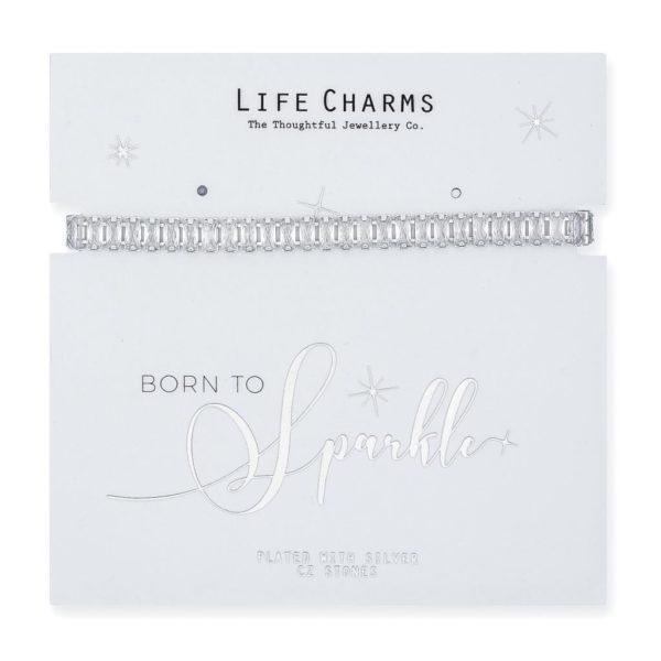 Life Charms Always Sparkle Darling Cubic Zirconia Bracelet