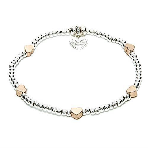 Life Charms Silver St Tropez Heart Bracelet