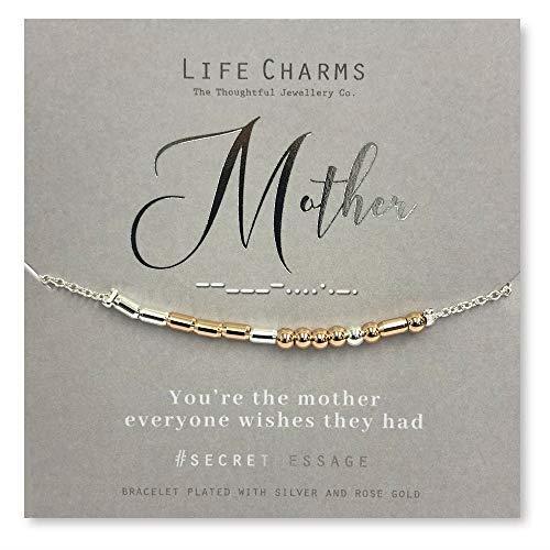 Life Charms Mother Secret Message Bracelet