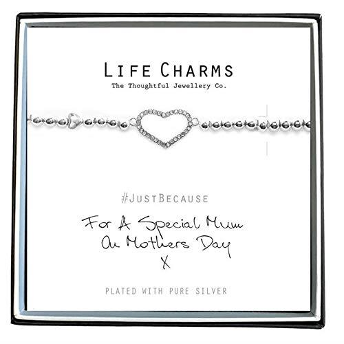 Life Charms For A Special Mum On Mothers Day Bracelet