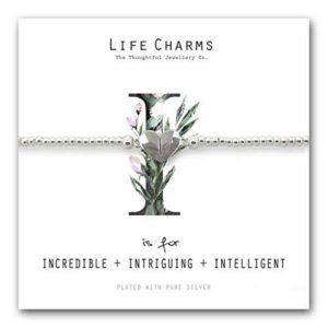 Life Charms I is for Bracelet