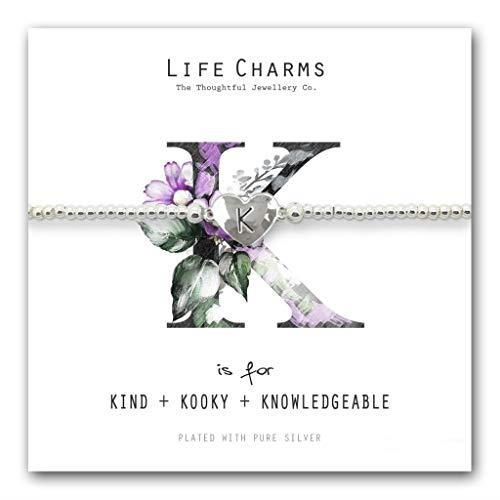 Life Charms K is for Bracelet