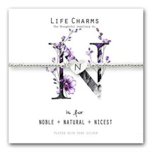Life Charms N is for Bracelet