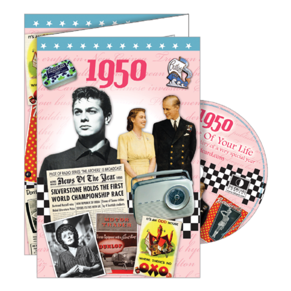 DVD and Greeting Card in one; The Time of your Life -1950 The CDCard Company
