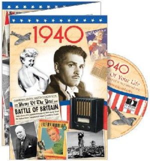72nd Birthday Gift Idea - 1941 DVD Film and 1941 Birthday Card