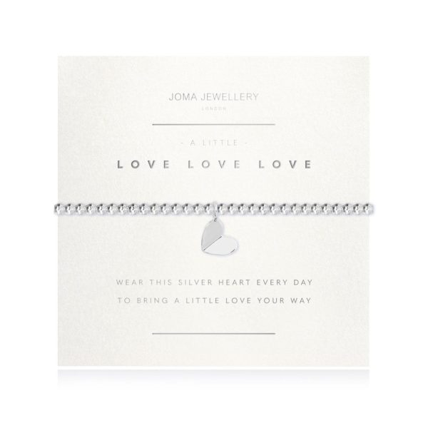 Joma Jewellery Love Love Love Bracelet