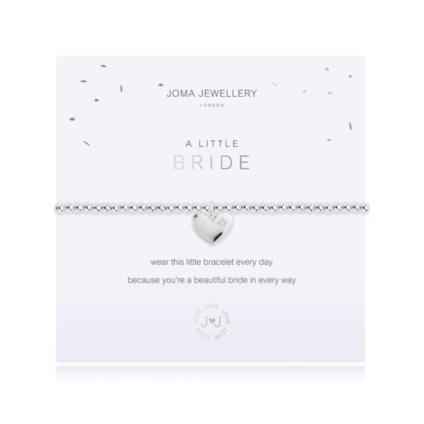 Joma Jewellery a little Bride Bracelet