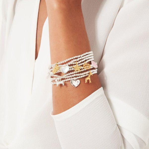 Joma Jewellery a little Bride Bracelet