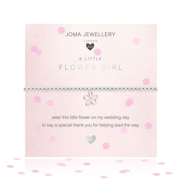 Joma Jewellery Childrens Flower Girl Bracelet