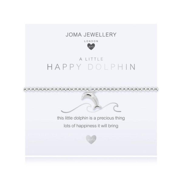 Joma Jewellery Childrens Happy Dolphin Bracelet