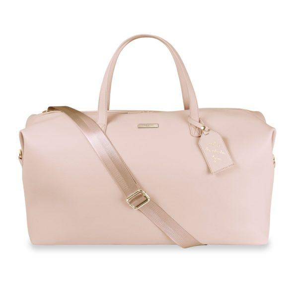 Katie Loxton Weekend Holdall Duffle Bag Pale Pink