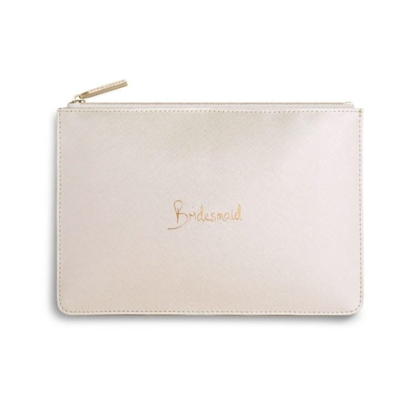 Katie loxton Perfect Pouch Bridesmaid- Pearlescent