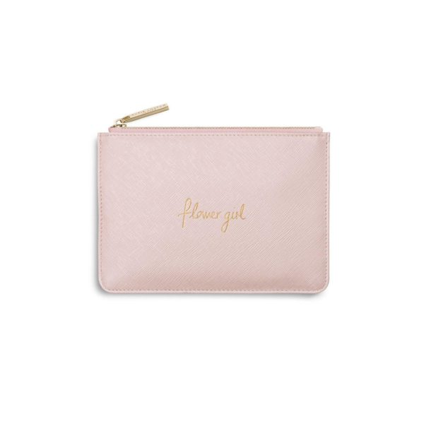 Katie Loxton Mini Perfect Pouch Flower Girl- Pink