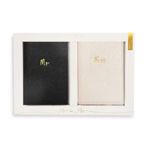 Katie Loxton Bridal Passport Covers- Mr & Mrs