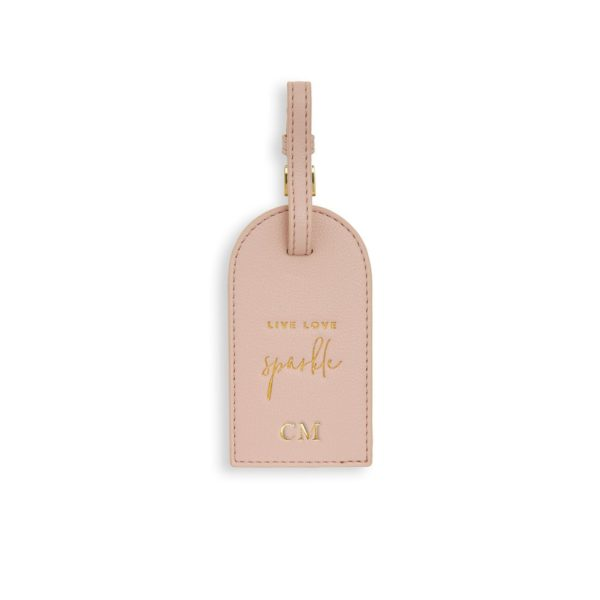 Katie Loxton Luggage Tag- Live Love Sparkle