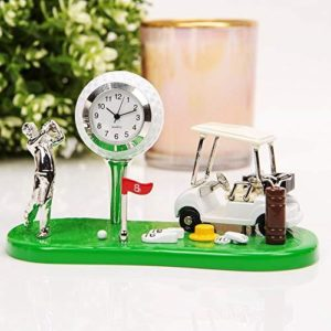 william widdop Miniature Clock - Golf Set
