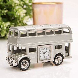 william widdop Miniature Double Decker Bus Clock