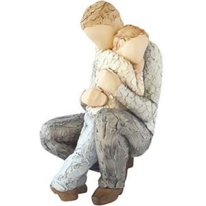 More Than Words In Safe Hands 9612 Father & Son Figurine