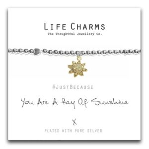 Life Charms You are A Ray of Sunshine Bracelet