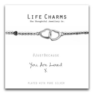 Life Charms Women Jewellery You are Loved Bracelet Wristband Ladies Gift