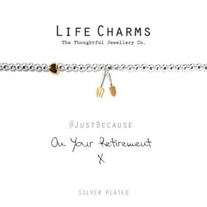 Life Charms On Your Retirement Bracelet