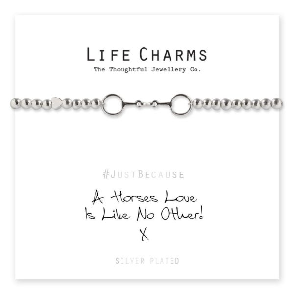 Life Charms A Horses Love Is Like No Other Bracelet