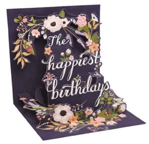 Noel Tatt Happy Birthday Pop-up Card
