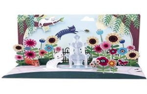 Noel Tatt Cats Pop-up Greetings Card