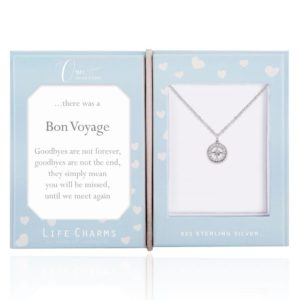 Life Charms Once Upon A Time Bon Voyage Sterling Silver necklace