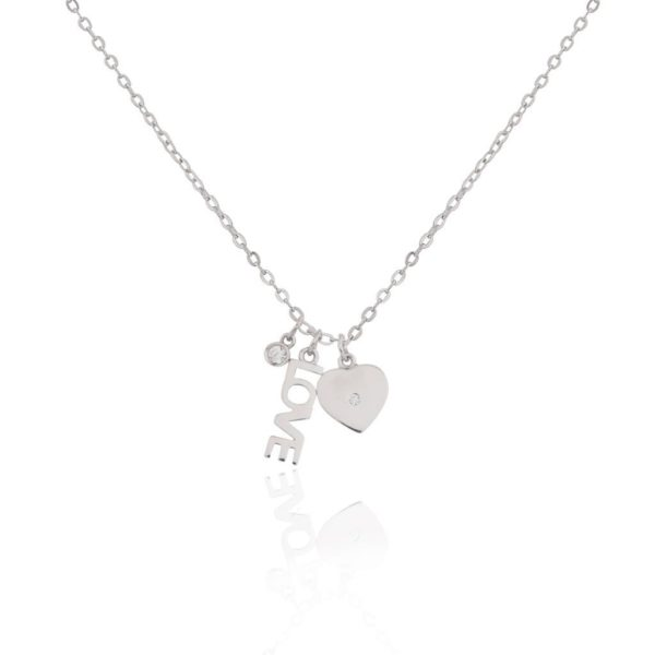 Life Charms Once Upon A Time Love Sterling Silver necklace