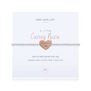 Joma jewellery a little Caring Nurse bracelet