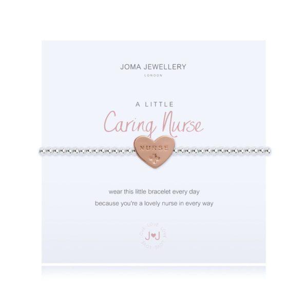 Joma jewellery a little Caring Nurse bracelet