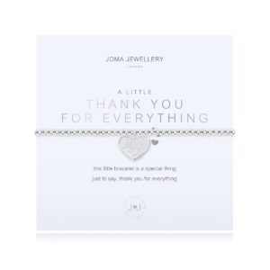 Joma Jewellery a little Thank You For Everything bracelet