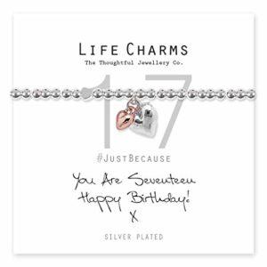 Life Charms Happy 17th Birthday bracelet