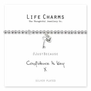 Life Charms Confidence Is Key bracelet