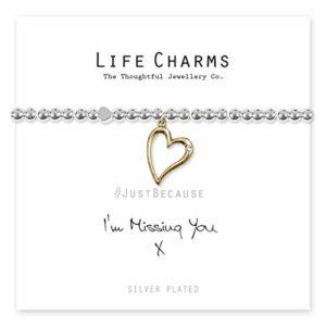 Life Charms I'm Missing You bracelet