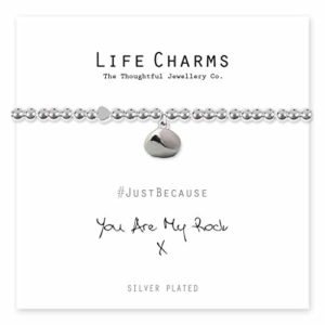 Life Charms You Are My Rock bracelet