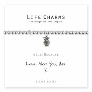 Life Charms Love Hoo You Are bracelet