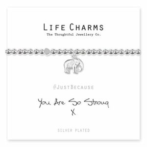 Life Charms You Are So Strong bracelet