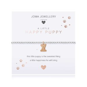 Joma Jewellery a little Happy Puppy bracelet